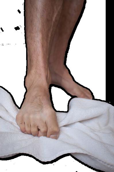 Towel Scrunching